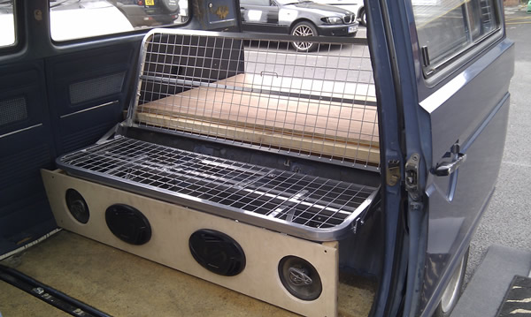 T25 Rock And Roll Bed In Seat Position Volkswares